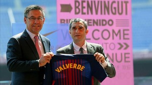 Valverde, con Bartomeu