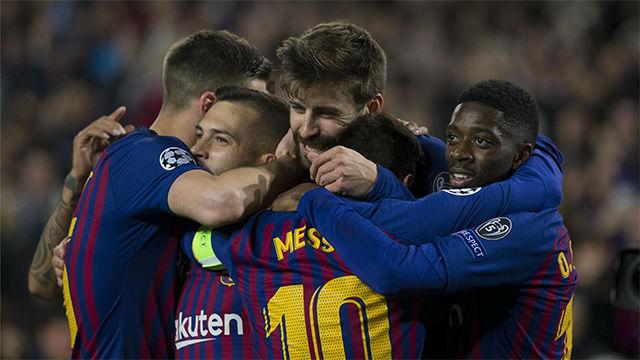 El video de la brutal goleada del Barça ante el Lyon
