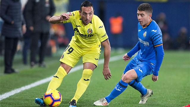El Villarreal no levanta cabeza y vuelve a perder ante el Getafe