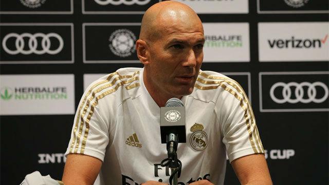 Zidane: Con Bale no ha cambiado nada