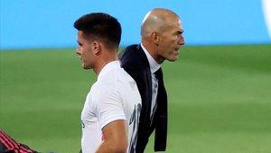 Zidane pidió el fichaje de Luka Jovic, pero parece haber perdido la fe en el Serbio, que va de polémica en polémica