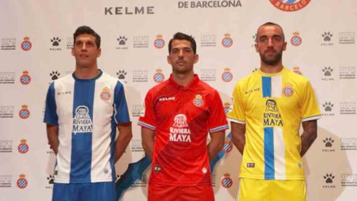 El Espanyol presenta sus equipaciones para la temporada 2018-19 VIDEO afb11d610c800