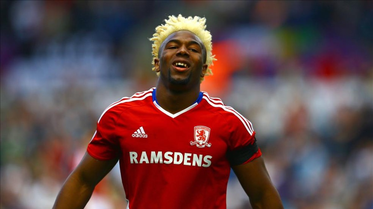 Adama Traore Photos Photos - Middlesbrough v Chelsea ...