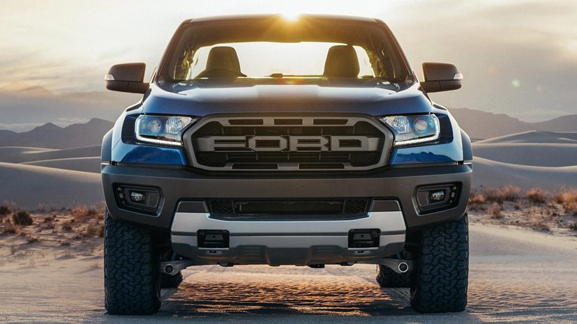 Ford Ranger Raptor en acción.