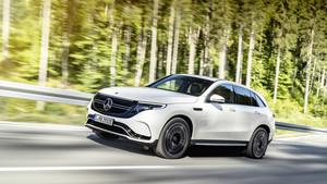 El Mercedes EQC monta dos motores eléctricos.