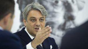 Luca De Meo, presidente de Seat .