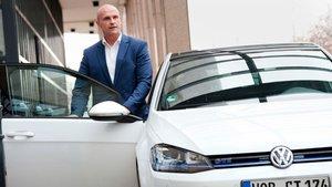 Thomas Ulbrich, responsable de movilidad eléctrica de Volkswagen.