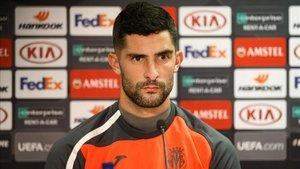 Álvaro, ya exfutbolista del Villarreal