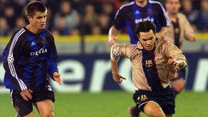 Andrés Iniesta recordó su debut con el FC Barcelona en Brujas