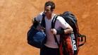Andy Murray no ha tenido que jugar para acceder a octavos