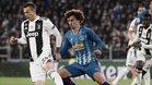 Antoine Griezmann quedó muy tocado por la eliminación ante la Juventus