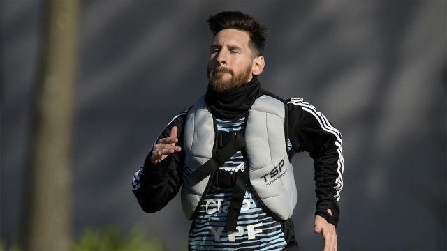Argentina sigue ejercitándose con la mirada puesta en el Mundial de Rusia