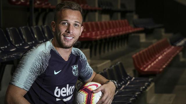 Arthur confesó que Neymar ayudó a que eligiera el Barça