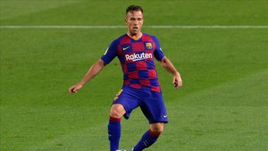 Arthur ya está en Barcelona