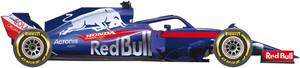 Así es el coche de Toro Rosso para el Mundial de F1 de 2018