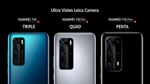Así son los nuevos Huawei P40, P40 Pro y P40 Pro+