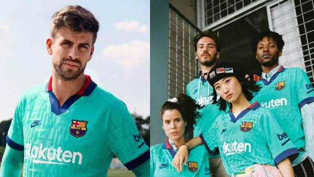 El Barça presenta su tercera equipación