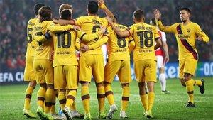 El Barça suma y sigue en Europa