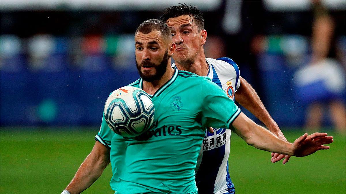 Benzema, sobre su taconazo: Yo veo el fútbol así. Sabía que Casemiro venía a mi espalda