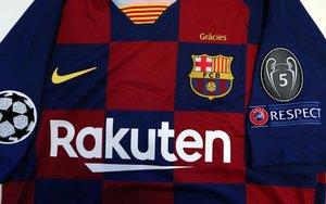 La camiseta del Barça para la Champions / FCB