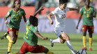 China venció por la mínima a Camerún