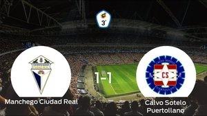 El Ciudad Real y el Calvo Sotelo Puertollano reparten los puntos tras empatar a uno