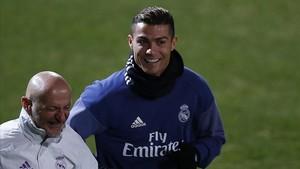 Cristiano Ronaldo recibió la noticia del Balón de Oro en Japón
