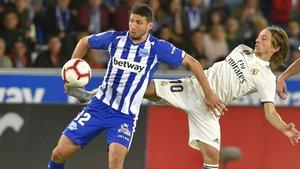 El Deportivo Alavés se encuentra actualmente clasificado para la Europa League