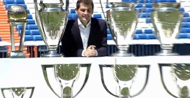 La despedida de Casillas en el Santiago Bernabéu