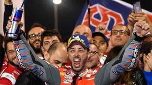 Dovizioso empezó la temporada con triunfo en Catar