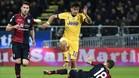 Dybala abandonó el campo lesionado en el minuto 48