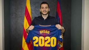 Dyego renovó hasta el 2020