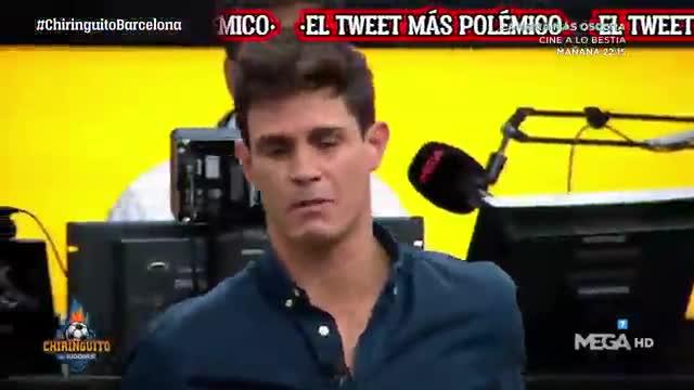 Edu Aguirre critica duramente esta broma en redes del Barça a Cristiano Ronaldo