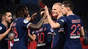 ¡Empieza la segunda parte entre el PSG y el Dijon! (ES)