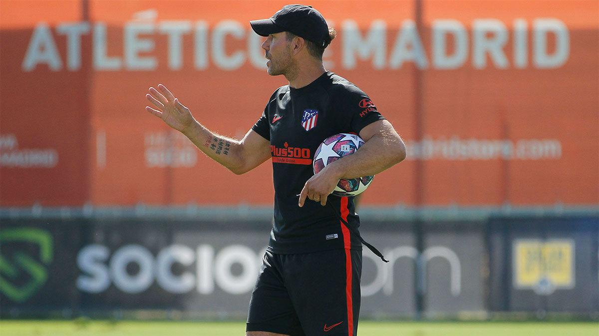 Entrenamiento físico y control antidopaje para el Atlético