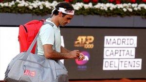 Federer cayó en cuartos en Madrid