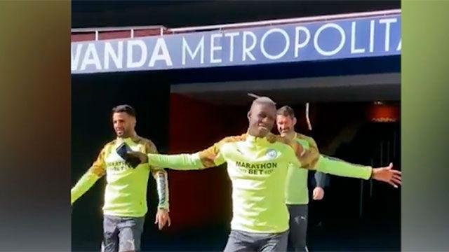 La felicidad del Manchester City tras ganar al Real Madrid