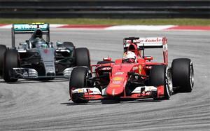 Ferrari ha encendido la alarma en Mercedes