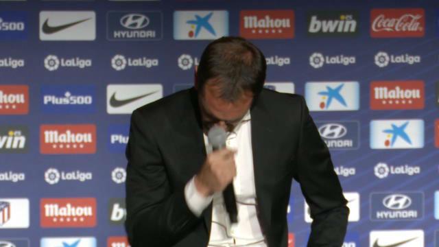 Godín se despidió del Atlético de Madrid con lágrimas en los ojos