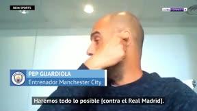 Guardiola sobre el Real Madrid: Haremos todo lo posible