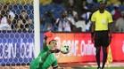 El Hadary parando el último lanzamiento de penalti