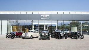 La herencia de Bentley se expondrá por todo el mundo.