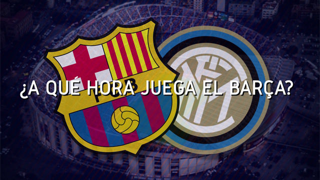 El horario mundial del FC Barcelona - Inter