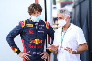 Jack y Mick Doohan, en los test de F3