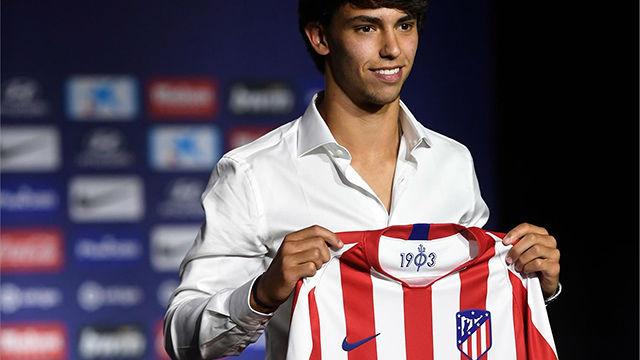 Joao Félix ha sido presentado como jugador del Atlético de Madrid