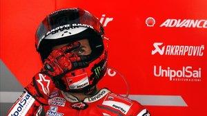 Jorge Lorenzo vivirá el GP de Motegi desde el box