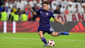 Juanfer Quintero fue la figura en la gran final de la Copa Libertadores 2018