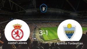 El Júpiter Leonés vence en casa al Atlético Tordesillas por 3-1