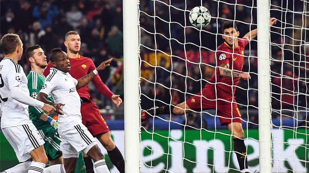LACHAMPIONS   Roma - Qarabag (1-0)