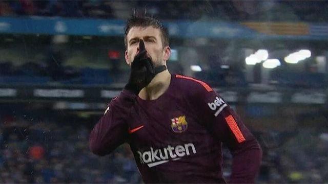 LALIGA | Espanyol - Barça (1-1): Piqué silenció Cornellà